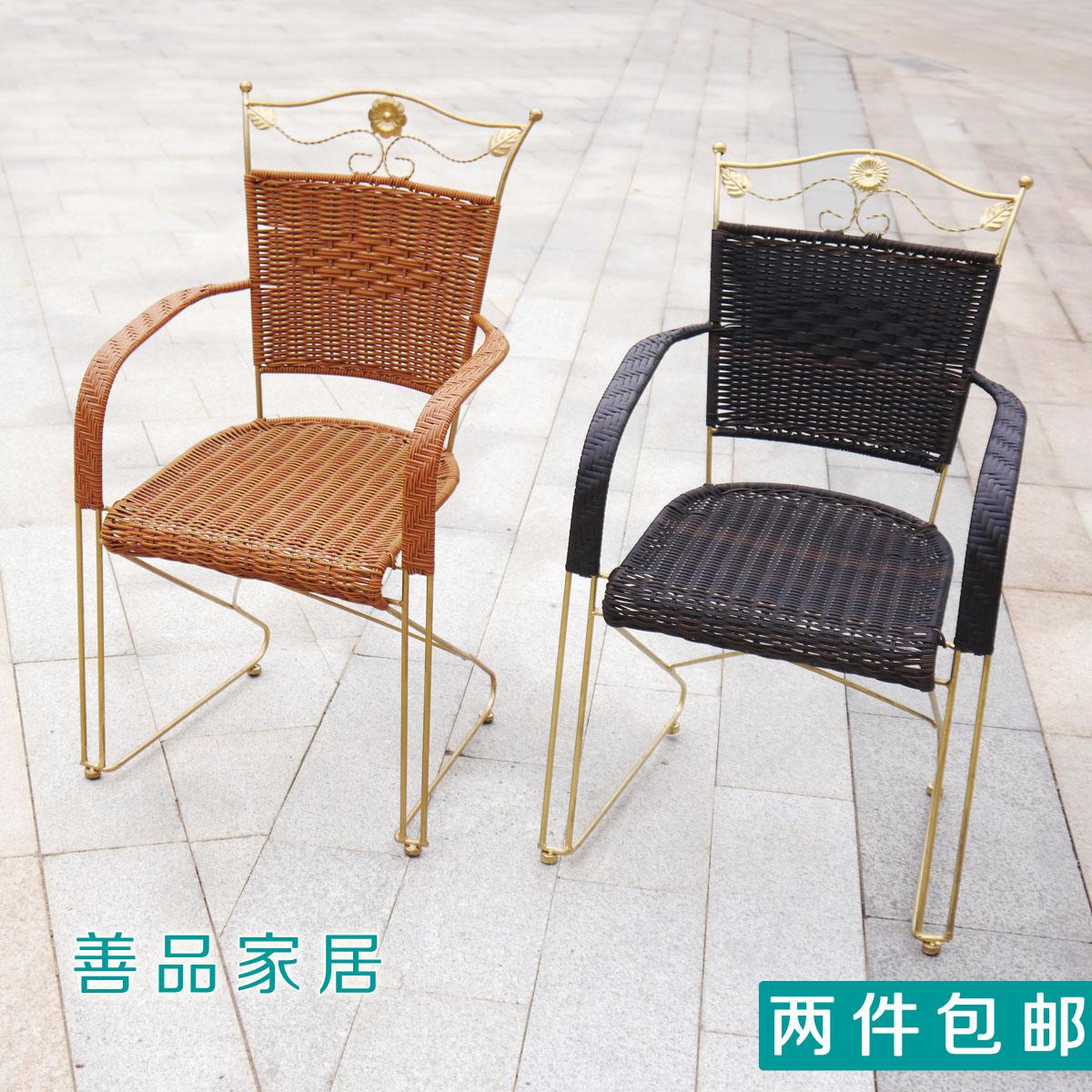 铁艺椅子囹�a_铁艺藤椅子