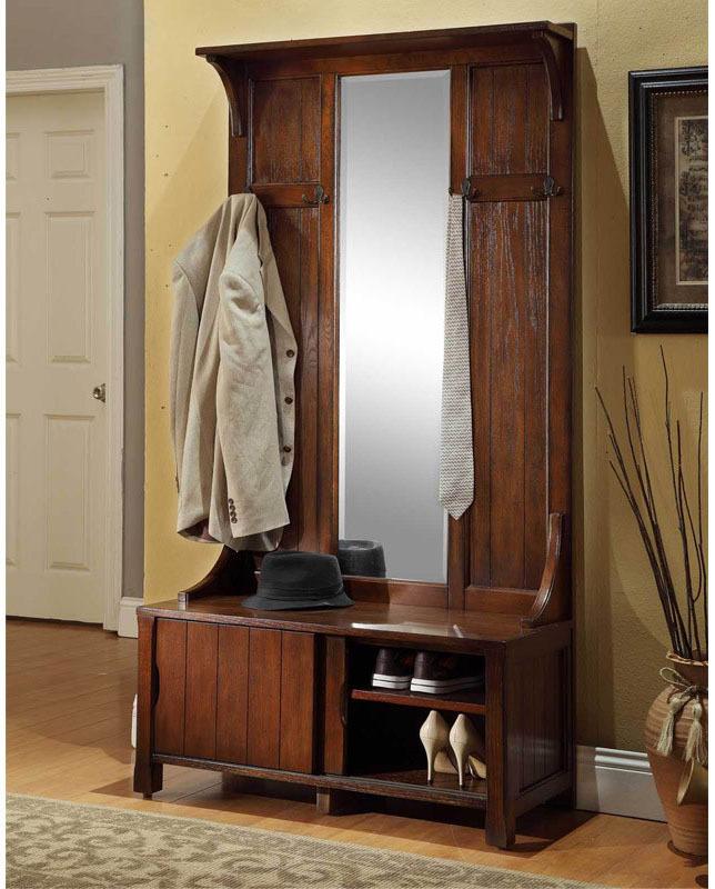 美式欧式门厅柜玄关柜实木鞋柜衣帽柜换鞋凳穿鞋凳穿衣镜商品图片价格图片
