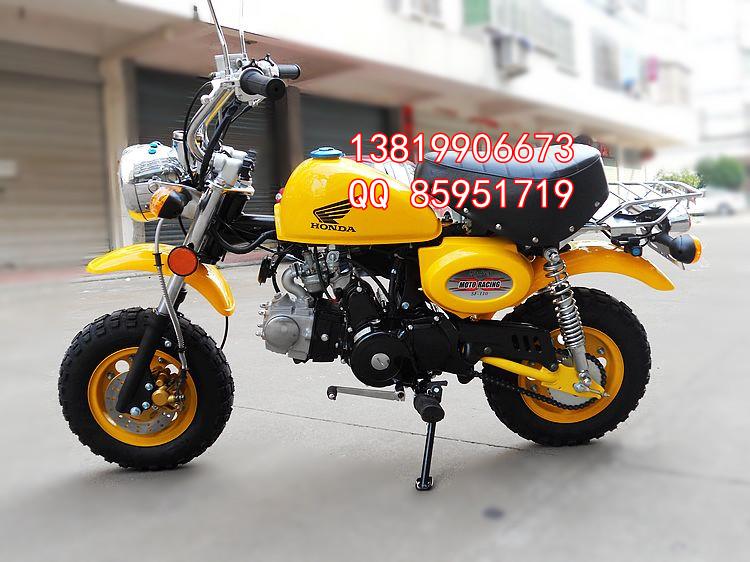 车猴子_特价 远星轮胎 小猴子摩托车 前轮碟刹125cc发动机 媲美金城猴子商品