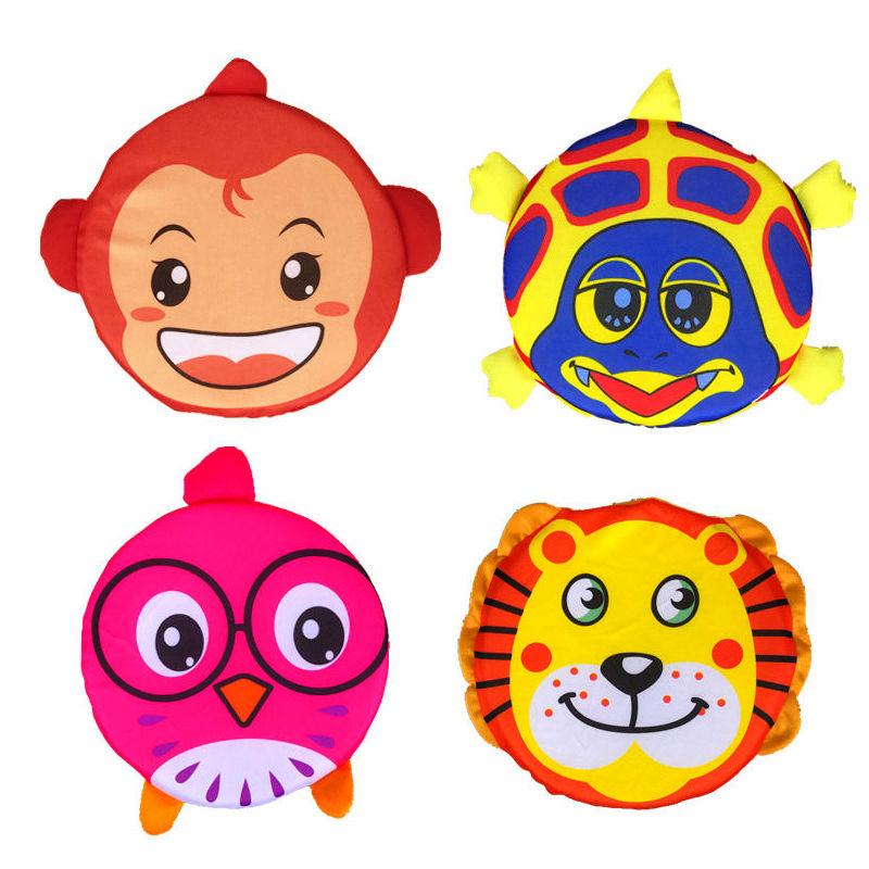 幼儿园卡通动物软飞盘儿童飞碟玩具户外运动感统训练器材亲子道具商品图片