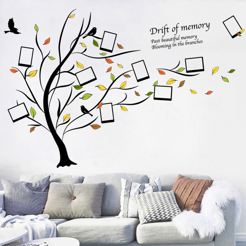 文艺相框照片树墙贴纸宿舍班级教室文化布置温馨卧室女孩装饰贴画商品图片