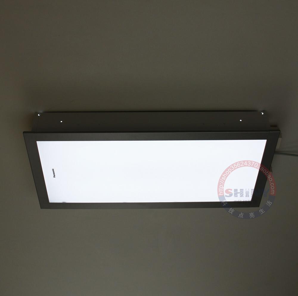 商城正品 松下吸顶灯 18w 厨房卫生间嵌入集成吊顶 银色 hac4003e商品图片