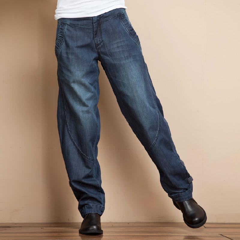 宽松萝卜长裤