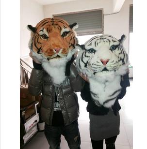 2014火热新款个性老虎头背包 白虎头包老虎头双肩包 虎头包商品图片图片
