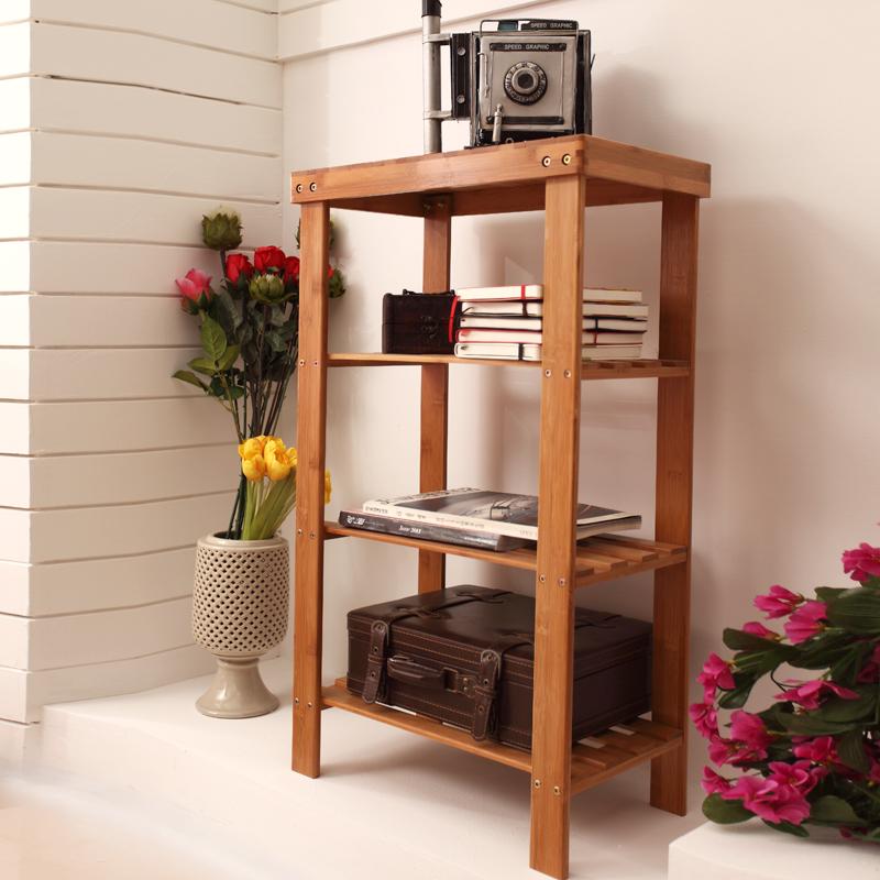 楠竹多层 防尘 竹制品宜家竹子置物架 简易商品图片价格图片