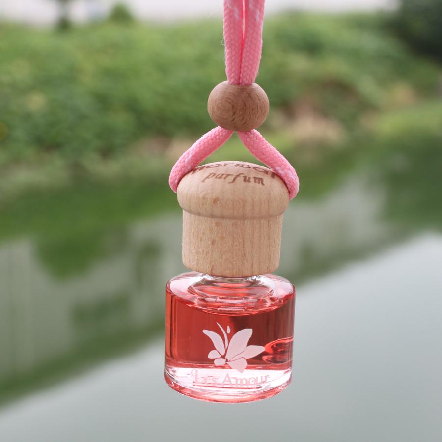 法国艾玛悬挂式汽车香水挂饰花语独白纯植物精油艾玛车用香水商品图片