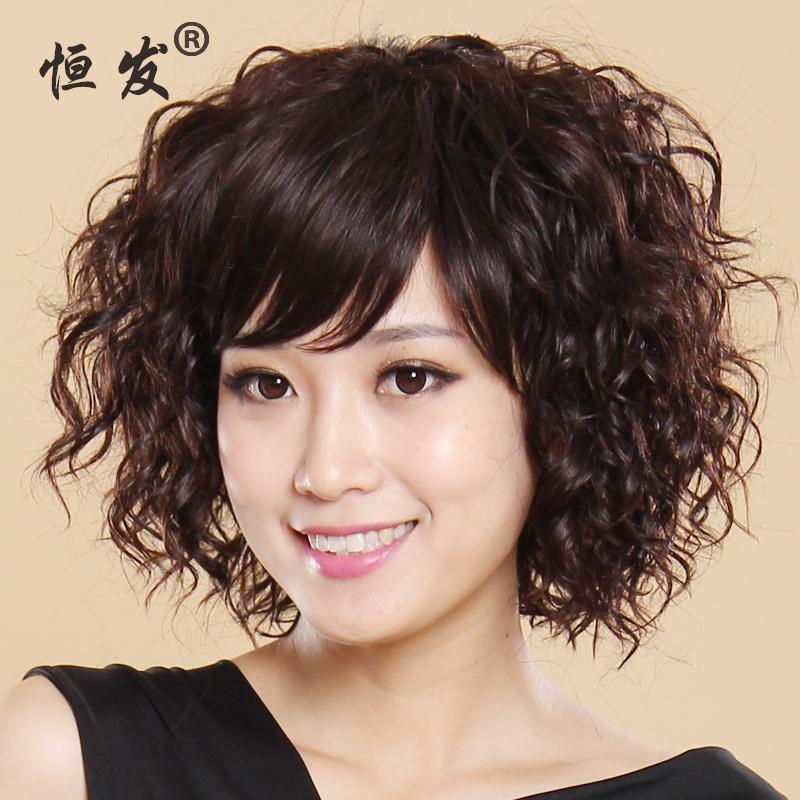 短发卷发类型-中短发烫发发型|韩式短发烫发发型2017|2017韩式烫发中图片