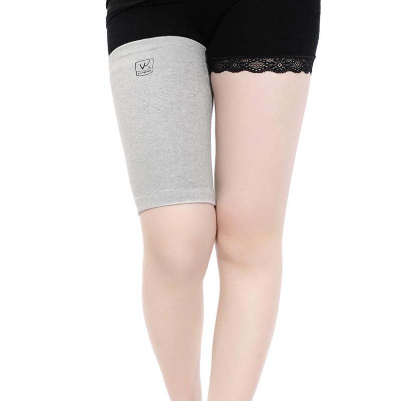 专业护腿护大腿肌肉拉伤篮球自行车运动保健身护具竹炭商品图片价格