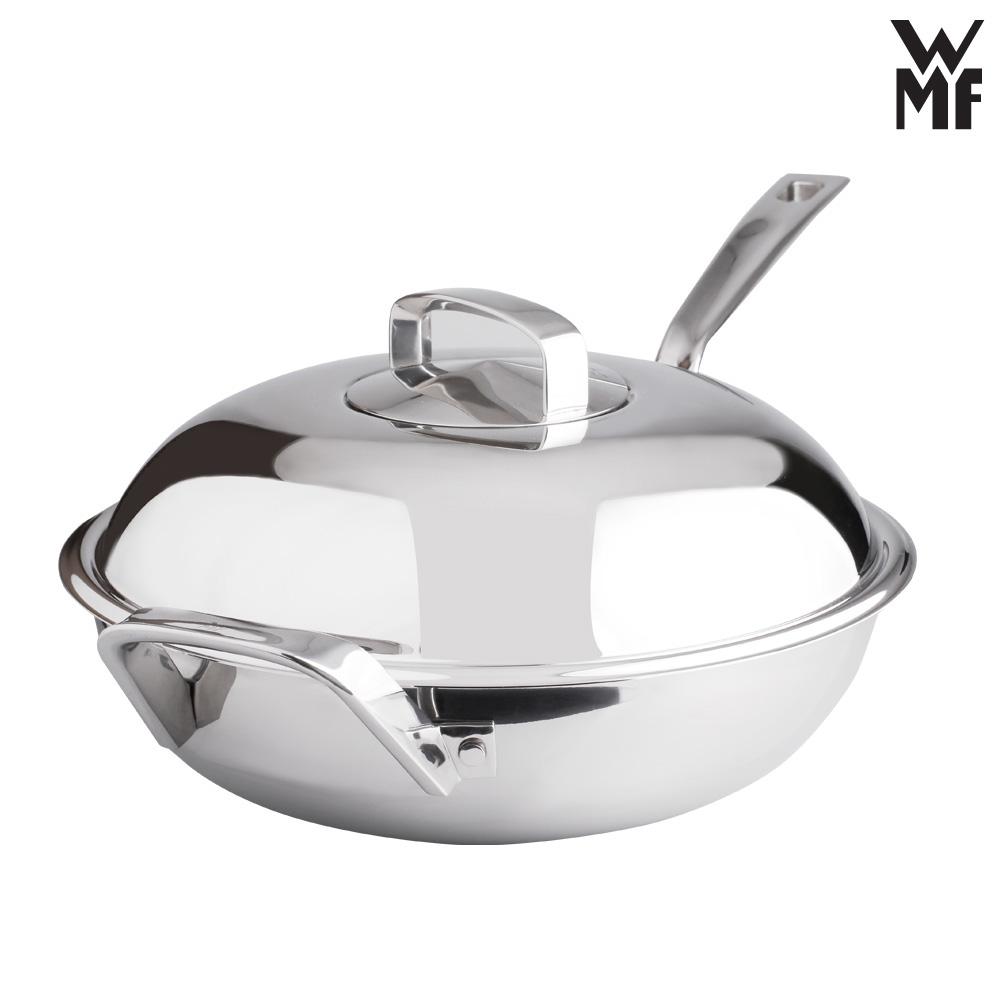 德国原装进口wmf 福腾宝 不锈钢中华炒锅 28cm商品图片价格