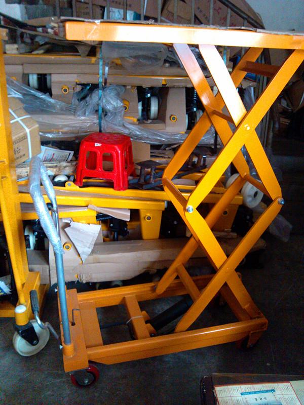江苏常州移动式液压升降平台 液压升降手推车 液压工具车 升降台商品图片
