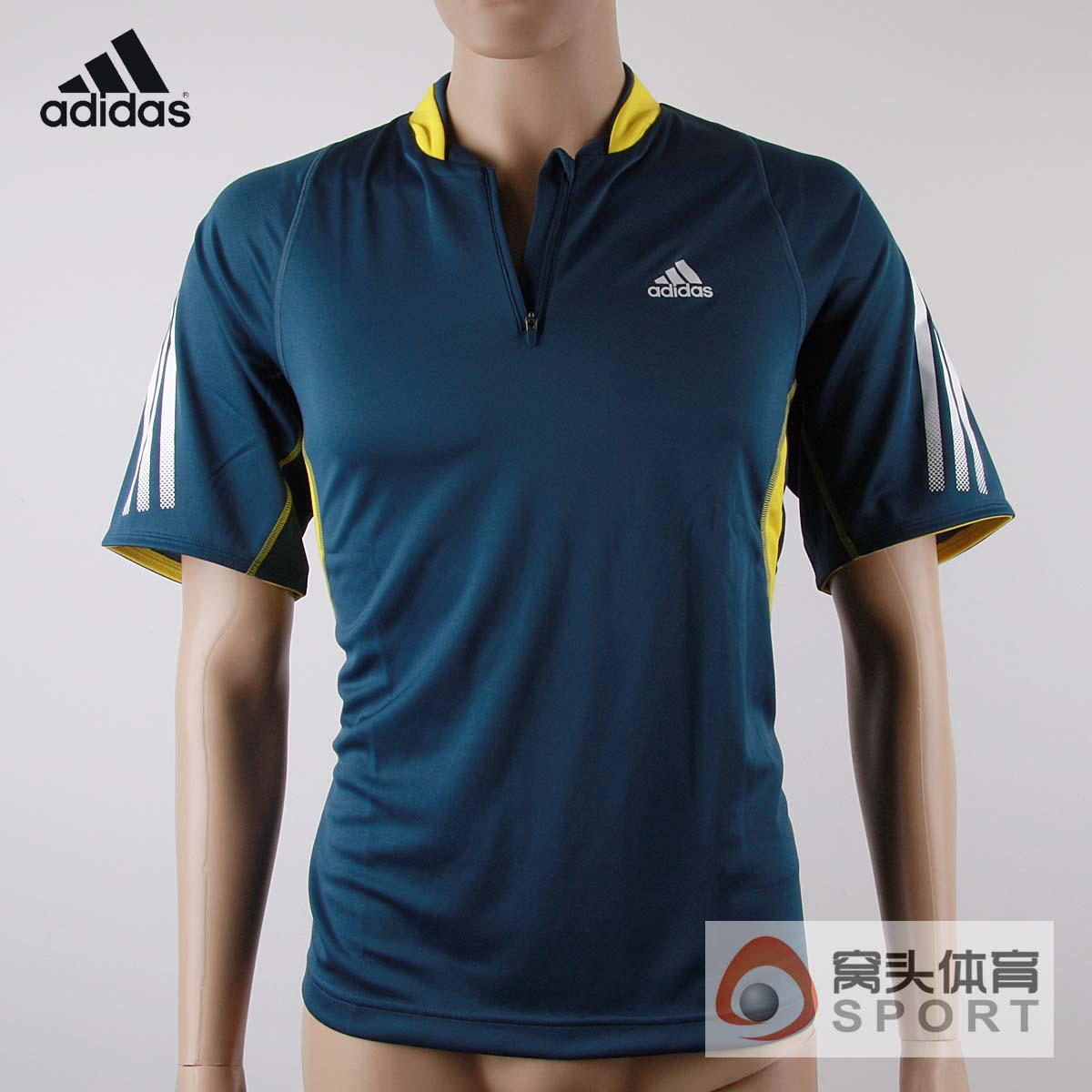 专柜正品 adidas 阿迪达斯乒乓短袖 乒乓球比赛服z19414商品图片价格