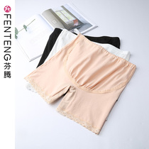 Fengteng pregnant women safety pants cotton pregnancy summer high waist anti-light leggings abdomen large size insurance shorts