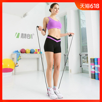 Skipping rope adult students in the exam competition skipping professional children lose weight fitness equipment wire pattern skipping rope