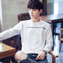 Law School Eagle sweater men's long-sleeved T-shirt loose round neck Korean students trend spring primer shirt men's shirt