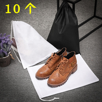 Loaded tea stem desiccant big bag line toy storage bag non-woven drawstring bag put shoes
