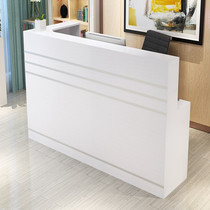 Corner front desk cash counter repair desk reception counter table beauty clothing mobile phone shop hotel hotel bar
