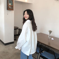 Simple basic loose long section of the white shirt sunscreen clothing 2017 Women Korean summer sunscreen cardigan tide