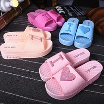 Summer bathroom slippers for men and women home indoor anti-skid summer couple home plastic fashion slippers