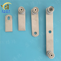 Staircase Railing Guardrail Handrail column Accessories stainless Steel glass clamp glass connector claw piece ear Piece