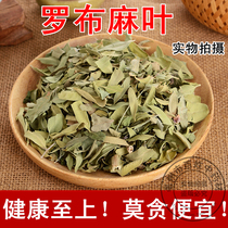 Chinese herbal medicine wild apocynum leaves Xinjiang special apocynum tea buck tea fresh dry bulk 500g