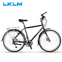 LKLM Cheerful Travel Bike Discovery 26 inch Renault 520 steel frame car chuan Zang long distance riding city car