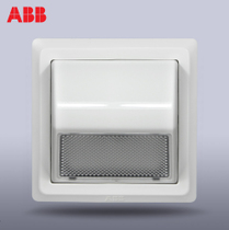 ABB Switch Panel 86-type wall switch socket de yat-foot lamp white wall mounted wall AE492