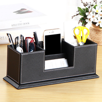 European retro pen holder creative fashion multi-functional office desktop student ornaments storage box custom printed logo