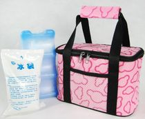 Pink package waterproof thickened insulation bag insulation bag Ice Bag Lunch package breast milk fresh bag