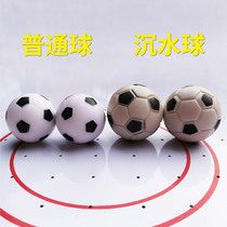 Football de Table en plastique Petit Ballon de football accessoires de ballon de football noir et blanc jouets de football table de football