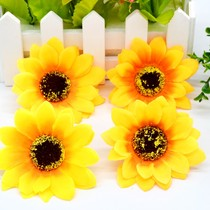 Network shooting props shooting props accessories simulation flower handmade sun flower sunflower shooting Background flower