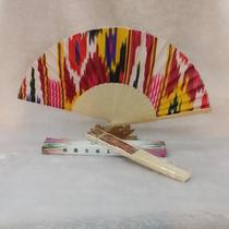 Xinjiang Special Arts and crafts aitlaisi folding fan home and dance lovers  collection