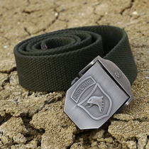 Outdoor Equipment Eagle Head Tactical belt Special Forces armed with nylon outer belt Army fan canvas belt Genuine