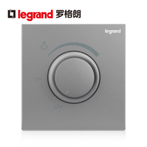 Rogeland switch socket panel escape depth sand silver dimming switch no pole regulation controllable wall power type 86