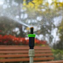 Garden lawn irrigation sprinkler buried scattering sprinkler rain grass flowers and wood irrigation water-saving spray head fine fog bird.