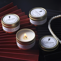 Nordic scented candles lasting home bedroom ins tin can fragrance candlelight dinner prop smokeless wax hand-holding ceremony