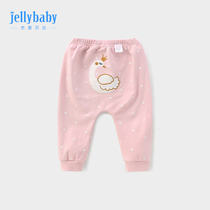 Childrens ass pants pants summer 1 year old female baby harem pants summer trousers girls autumn 3 baby pants spring and autumn