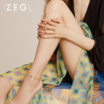 ZEGL designer 2019 New anklet femininity elegant simple ankle fashion ankle jewelry