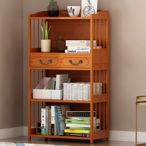 Bookcase free combination cabinet corner locker solid wood simple modern storage cabinet storage cabinet simple small bookshelf