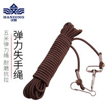 Han Ding lost rope 5 meters fishing retractable lost rope big fish anti-stripping rope fishing supplies equipped with fishing accessories
