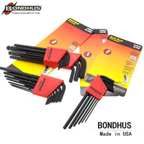 United States BONDHUS Botton hex wrench set hex key 10946 10999 1099 10937