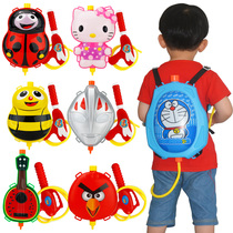 Summer beach pool childrens large backpack water gun variety cartoon backpack bared Water Gun childrens water gun toys