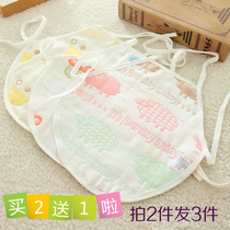 Baby tumbler cotton summer four seasons universal 6 layer gauze baby newborn with feet belly around