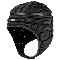 JANUS thickened anti-collision sponge football goalkeeper helmet goalkeeper cap rugby skating hat JA158