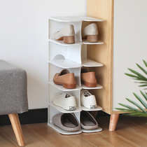 6-story Japanese-style space multi-storey shoe rack bathroom dormitory artifact finishing slippers racks put shoes storage rack