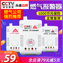 Household gas kitchen gas gas detector liquefied gas leakage carbon monoxide flammable gas alarm