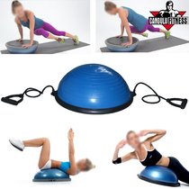 MY MOUNTAIN Balance Wave Speedball Semi-Round Balance Ball Pilates Yoga Fitness Ball Bosu Ball