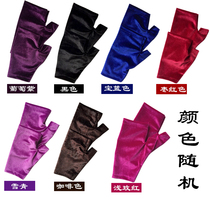 Qing language autumn and winter men and women with the same tai chi gloves training gloves warm gloves tai chi gloves in old age.