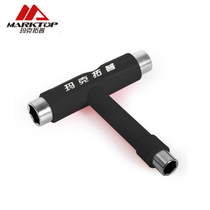 Makto top skateboard t-wrench sleeve professional skateboarding debugging tools installation and maintenance multi-purpose t-bar