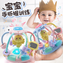 Baby Toy Rattle 0 to 1 year and a half grip training girls puzzle enlightenment five six seven eight months boy baby