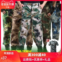 Camouflage pants mens training pants Army fans pants special forces loose wear overalls pants military training pants summer tactical pants